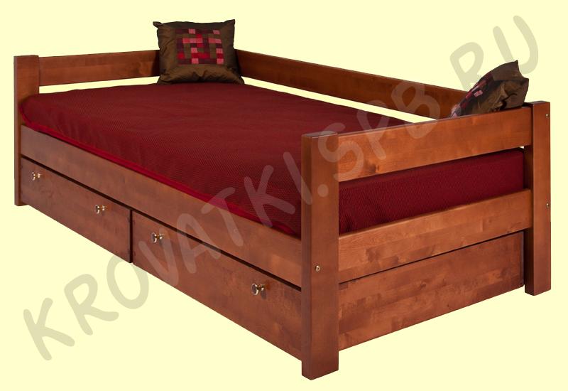 Из кровати тахту - Как покрасить мебель своими руками